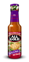 All Gold Hot Sauce Garlic & Herb 125ml