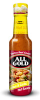 All Gold Hot Sauce Lemon & Garlic 125ml