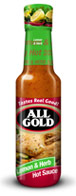 All Gold Hot Sauce Lemon & Herb 125ml