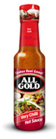 All Gold Hot Sauce Very Chilli 125ml