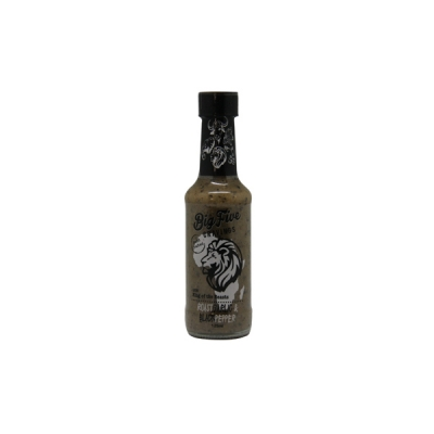 Big Five Cravings - Lion Roast Garlic & Black Pepper 125ml