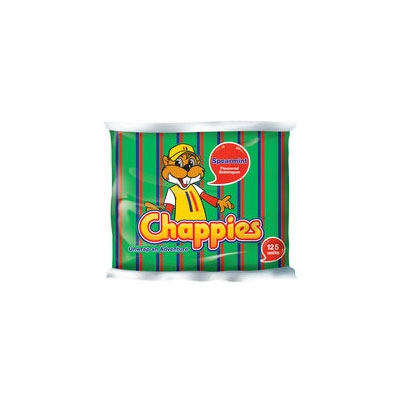 Chappies Spearmint Bubbleg. 125pc