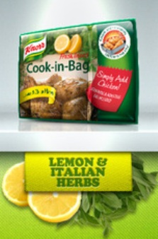 Knorr Cook in Bag Lemon & Italian Herbs