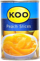 Koo Peaches Sliced