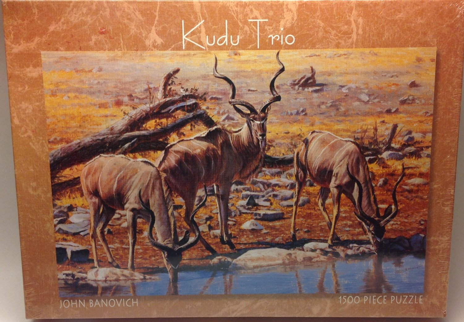 Kudu Trio Puzzle 1500 pieces