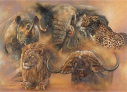 Legendary Big Five Puzzle