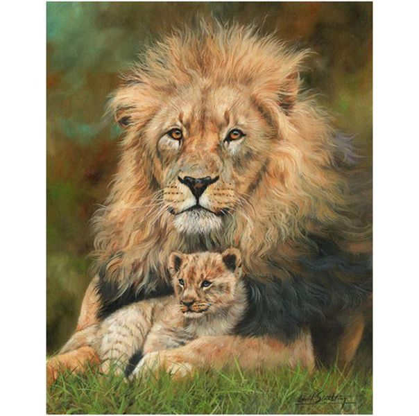 RGS Puzzle Lion & Cub 1000 pieces