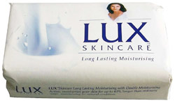 Lux Body Soap Bar White