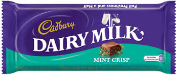 Cadbury Dairy Milk Mint Crisp past bb date