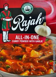 Rajah All in One Curry with Garlic 100g