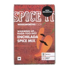 Woolworths Nada Too Hot Enchiada spice Mix