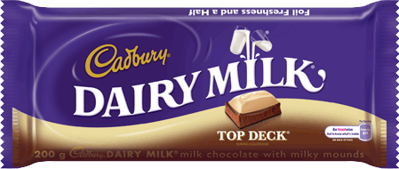 Cadbury Dairy Milk Top Deck 150g
