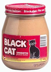 Black Cat Peanut Butter Smooth