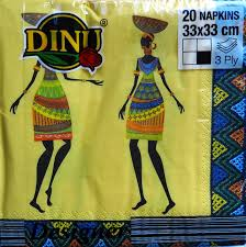 Dinus African Ladies napkins