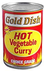 Gold Dish Hot Veg Curry