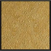 Ambiente Gold Cocktail napkins