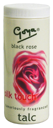 Goya Talc Black Rose