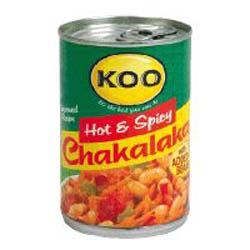 Koo Chakalaka Hot with beans