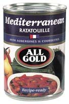All Gold Ratatouille - Mediterranean Style