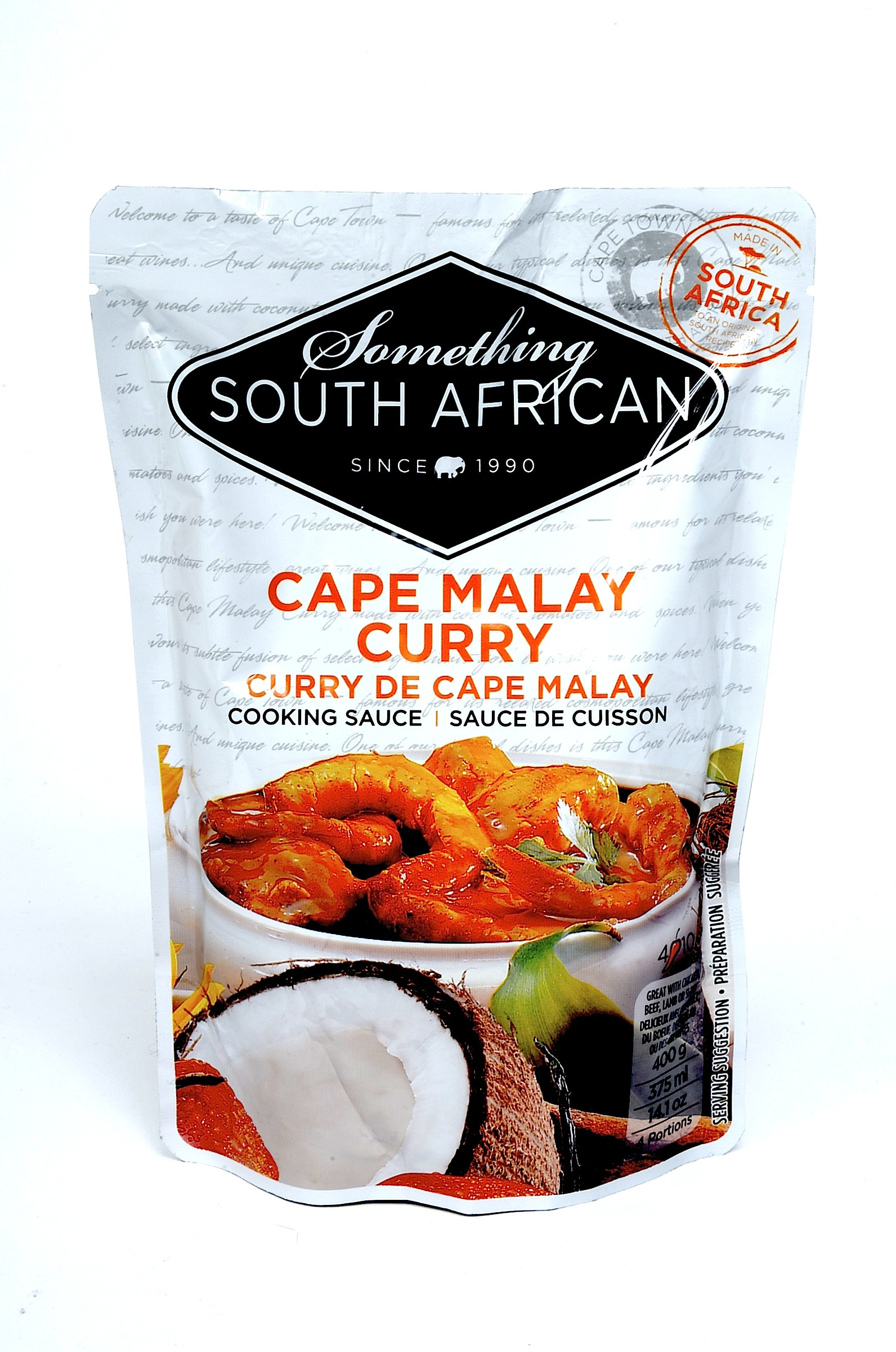 Something South African Cape Malay Cookin Sauce
